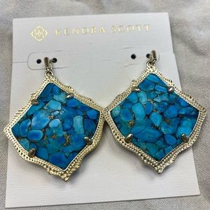 Kendra Scott Kirsten turquoise Earrings